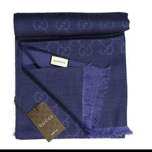 Gucci GG Jaucquard Pattern Knitted Scarf for Sale in Huntington Park, CA