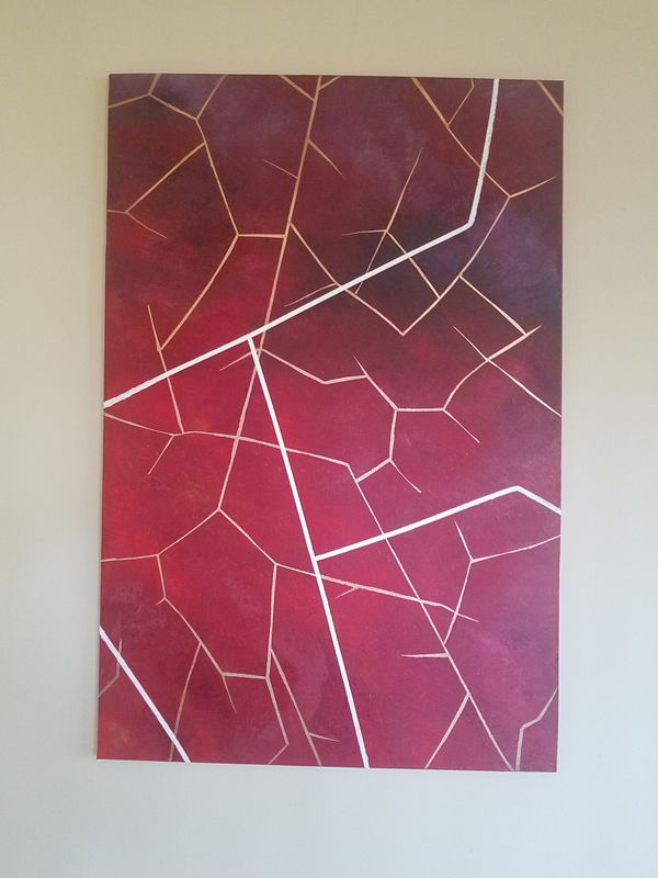 Abstract Wall Decor