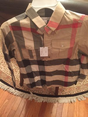 Burberry shirt brand new for girls or boys for Sale in Fairfax, VA
