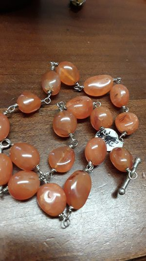 amber color necklace for Sale in Madison, VA