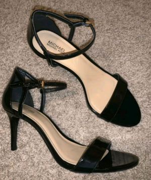 """Michael Kors 3in Black Patent Leather """"Simone"""" Heels -Size 9 for Sale in Hendersonville, TN"""