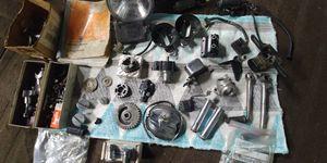 Box of mixed Triumph, Harley, Honda CB parts for Sale in Newark, CA