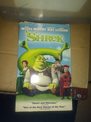 Shrek vhs for Sale in El Monte, CA