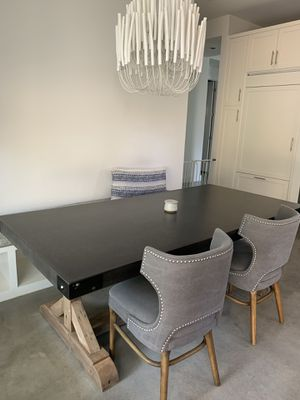 Restoration Hardware Dining Table salvaged wood/ concrete for Sale in Austin, TX