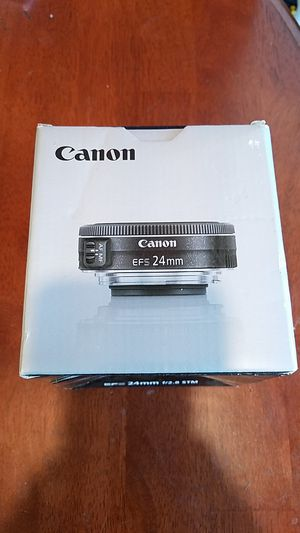Canon efs 24mm lense for Sale in Burbank, CA