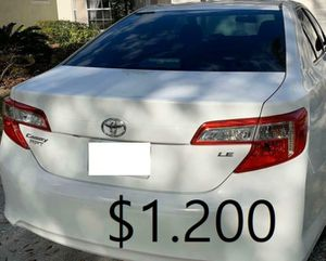 ✨$1200 I Selling 2013 Toyota Camry ,Runs and Drives great.Nice Family car Clean Tittle✨ for Sale in Miami, FL