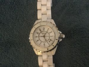 Sturhling ladies white ceramic watch beautiful! for Sale in Sun City, AZ