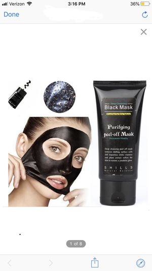 Facial black mask for Sale in Lawrence, MA