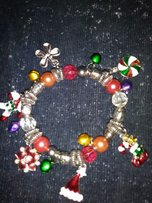 Christmas charm bracelet for sale for Sale in West Somerville, MA