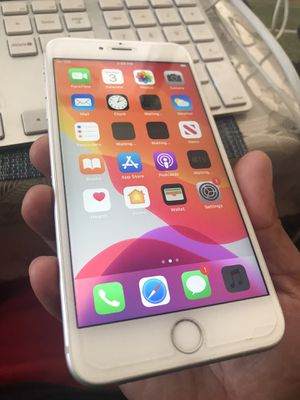 Silver iPhone 6s Plus 128gb factory unlocked already no issues at all. for Sale in Santa Ana, CA