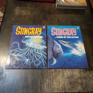 Stingray Book #1 Battle Stations And Book #2 Stand By For Action, Comic Album Graphic Novel Lot Of 2 for Sale in Fresno, CA