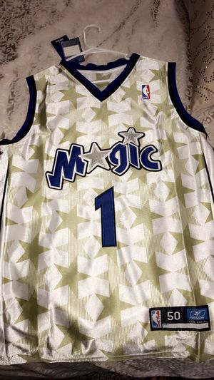 Authentic Tracy McGrady magic jersey. for Sale in Irwin, PA