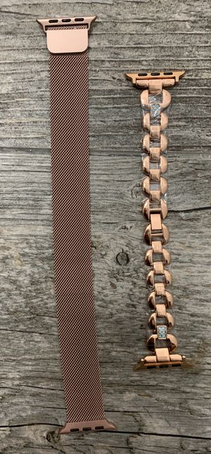 Two 42/44 MM Apple watch bands for Sale in West Valley City, UT