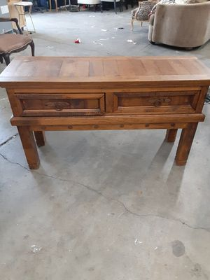 Rustic Console Table for Sale in Palm Springs, CA