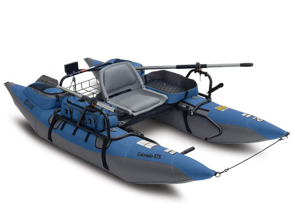 9' Colorado XTS inflatable Pontoon boat(FREE DELIVERY)