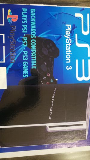 Ps3 backword compatable, works good, get it today, delivery available for Sale in Torrance, CA