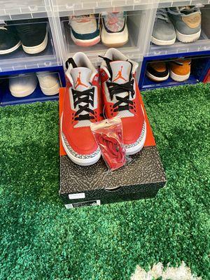 Air Jordan 3 Retro SE Unite Red Cement NEW! M10.5 for Sale in Las Vegas, NV