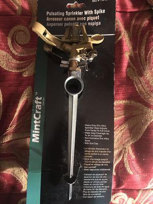 Pulsating Sprinkler with Spike for Sale in Davenport, FL