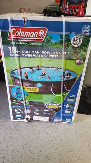 Coleman Series Easy Set Up Pool 18X48 New for Sale in Belle Isle, FL