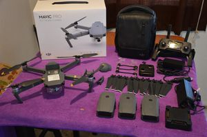 DJI Mavic Pro Fly More Combo and then some! for Sale in San Diego, CA