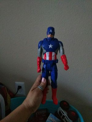 Captain America action figure for Sale in Tigard, OR