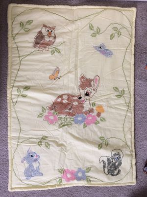 Brand new Hand stitched baby comforter and pillow for Sale in Battle Ground, WA