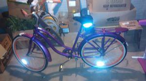 Beautiful purple, white & orange Schwinn low rider bus for Sale in Lima, OH