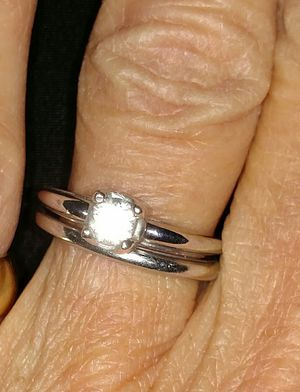 18k white gold wedding set for Sale in Kimberly, ID