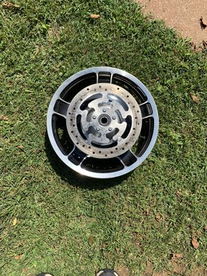 Harley Davidson touring wheels front and back for Sale in New London, MO