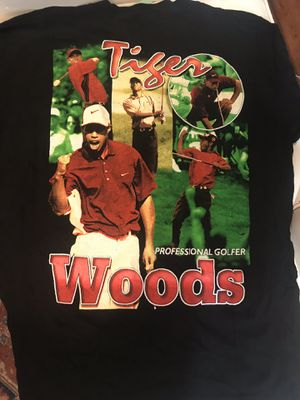Vintage hip hop tiger woods t for Sale in Washington, DC