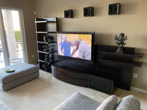 Modern Wall Unit Wood TV Television Entertainment Center for Sale in Miramar, FL