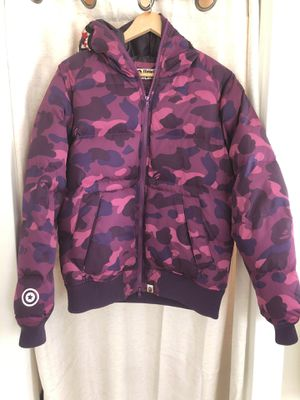 Bape Puffy Jacket Size L for Sale in Los Angeles, CA
