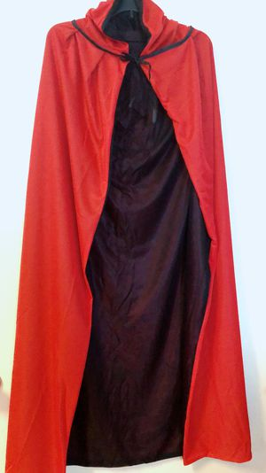 MEN TUNIC HOODED ROBE for halloween costume(new) 59 inches tall for Sale in Houston, TX