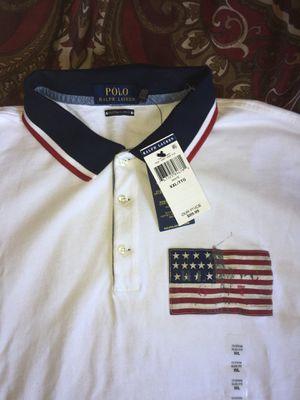 Mens White Ralph Lauren Polo Shirt for Sale in San Diego, CA