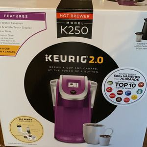 Keurig 2.0 for Sale in Monrovia, MD