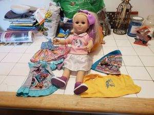 JoJo doll with accessories for Sale in Cromwell, CT