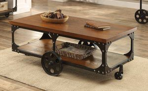 Rustic Industrial Coffee Table ONLY $299- SALE! Best Prices! for Sale in Sacramento, CA