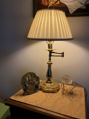 Swing arm Gold Lamp for Sale in Garner, NC