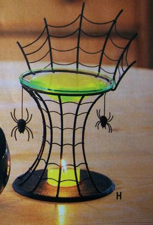Party Lite Spiderweb fragrance melts warmer for Sale in Anaheim, CA