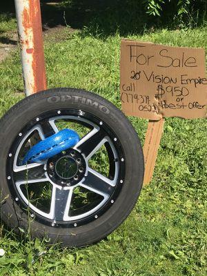 """20"""" Vision Empire Rims for Sale in Joliet, IL"""
