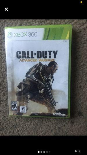 Xbox 360 COD : Advanced Warfare for Sale in Laveen Village, AZ