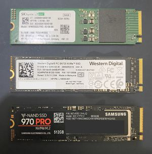 Nvme m.2 ssd storage drives fast!! for Sale in Los Angeles, CA
