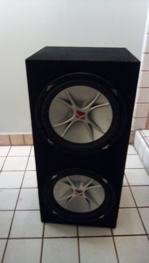 Kicker 12's with the Box for Sale in Los Angeles, CA