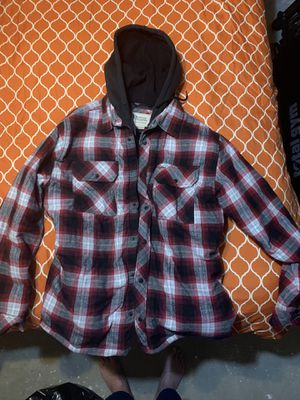New work jacket with built in hoodie for Sale in Arlington, TX