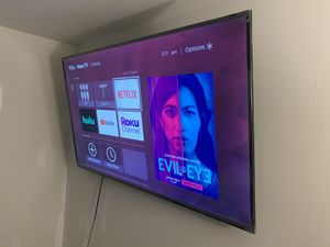 """TCL – 65"""" Class 4 Series 4K UHD Smart Roku TV for Sale in Raleigh, NC"""