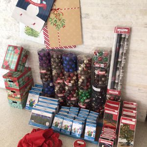 New Christmas decor and gift wrapping packages for Sale in Hollywood, FL