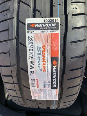 235/40/19 Hankook VENTUS S1 EVO3 for Sale in Manassas, VA