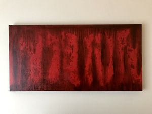 Original Abstract Art on Canvas 4ft x 2ft for Sale in Los Angeles, CA