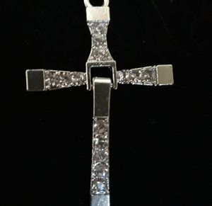 New hinged cross necklace 40.00 for Sale in San Bernardino, CA