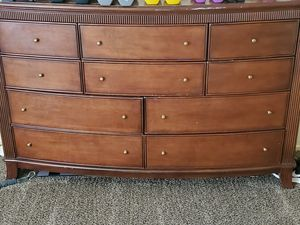 Wood 10 drawer dresser for Sale in Jackson, CA